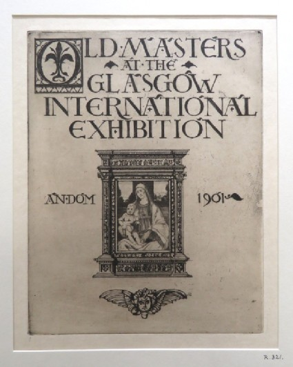 Title-page to Old Masters at the Glasgow International Exhibition