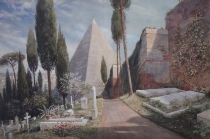 The Protestant Cemetery, Rome