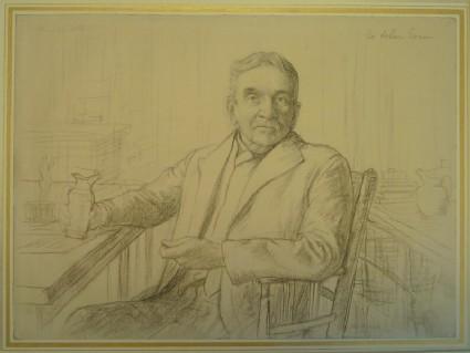 Portrait of Sir Arthur Evans