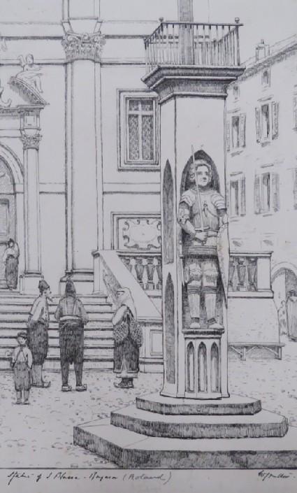 The Orlando Column, Ragusa