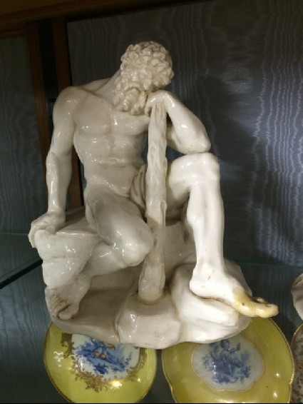 Hercules resting from his Labours