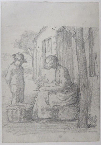 Study for the Etching of the Lame Beggar