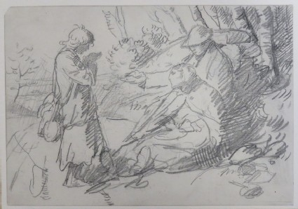 Study for the Etching of the Tinkers