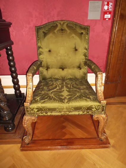 Armchair, one of a pair