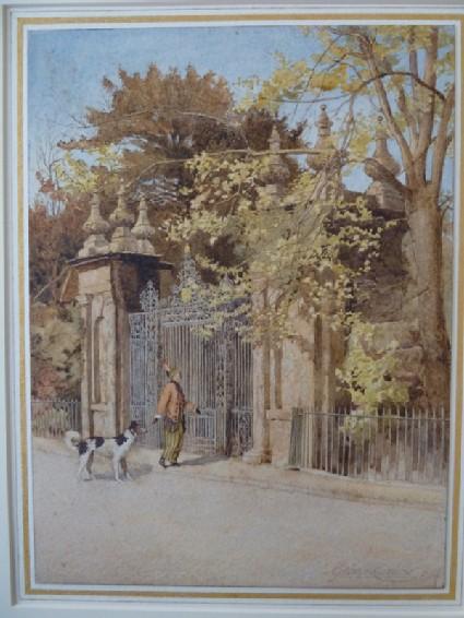 Trinity College Gateway, Oxford