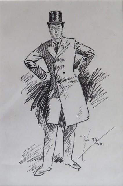 Study of Joseph Chamberlain