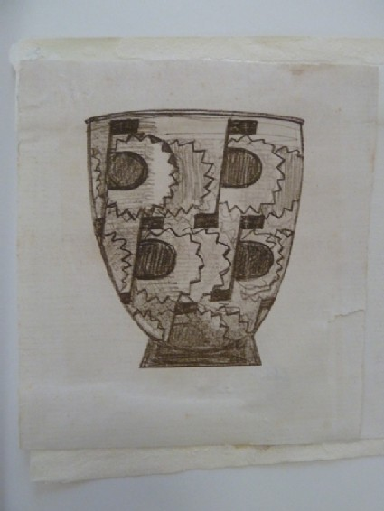 Design for a Lalique vase