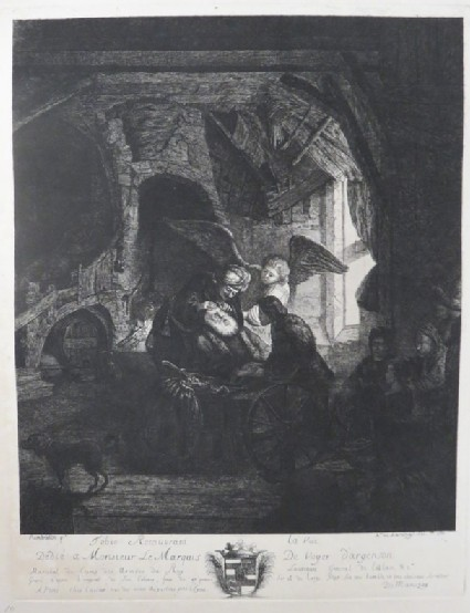 Tobias returns sight to his father
