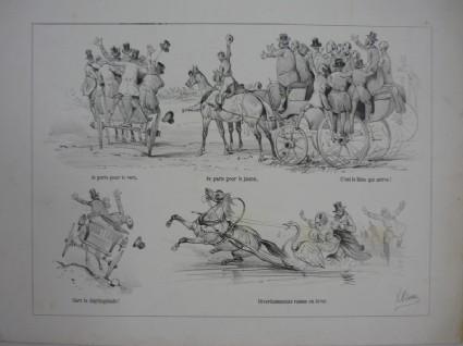 Various figure studies, numbered '21'