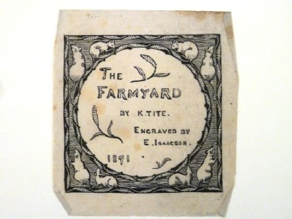 Title Page to 'The Farmyard'
