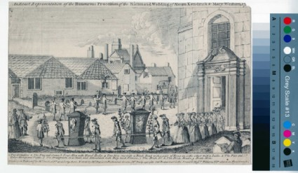 An Exact Representation of the Humourous Procession of the Richmond Wedding