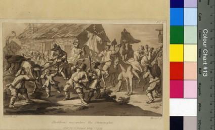 Hudibras encounters the Skimmington, copy