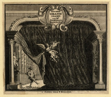 Title-page for 'Nouveau Theatre italien'