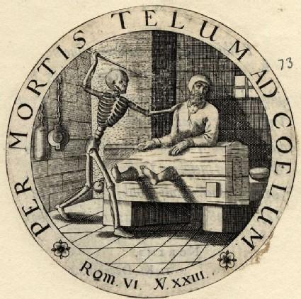 Emblem: man in a dungeon