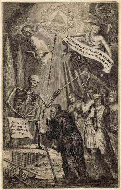Title-page to 'Les Consolations'