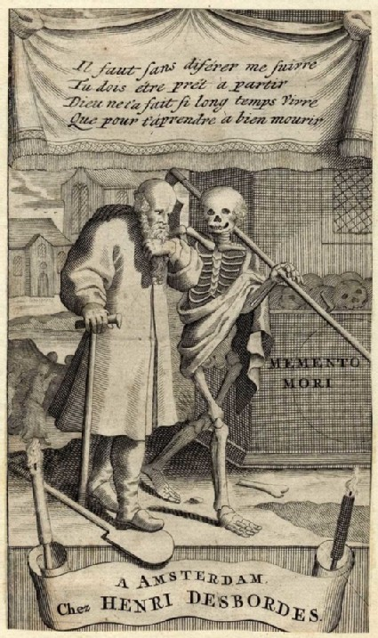 Frontispiece: Death and an old man