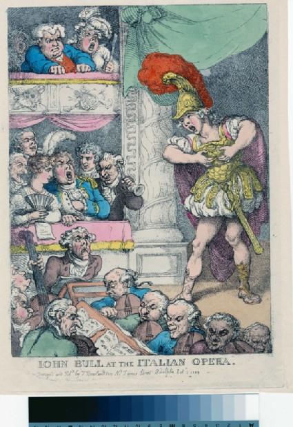 John Bull at the Italian Opera