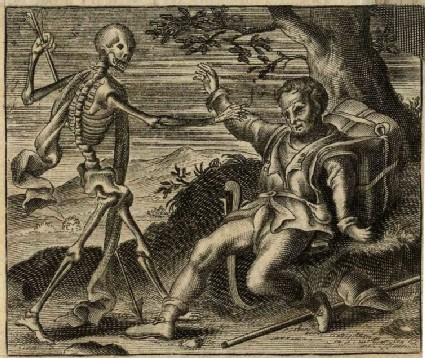 The peasant and Death