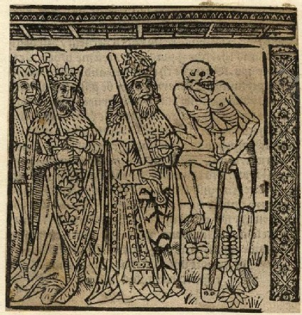 Emperor, duke, king and Death