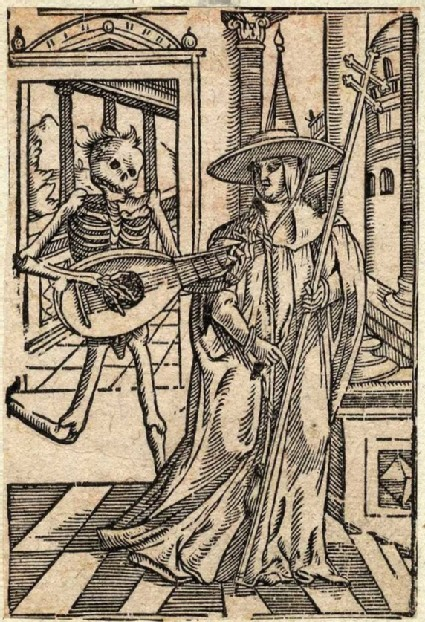 Dance of Death scene: Death and the cardinal