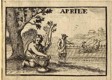 The Twelve Months: Aprile (April)