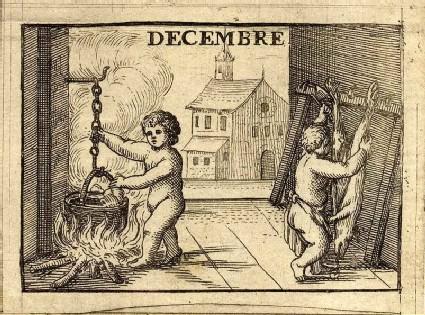 The Twelve Months: Decembre (December)