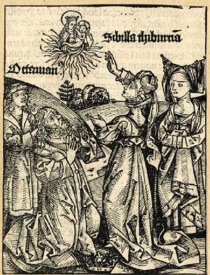 Emperor Augustus and the Tiburtine sibyl