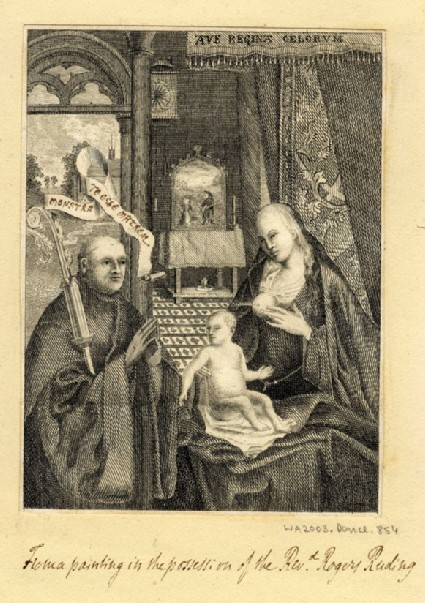 St Bernard and the Miracle of the Lactation