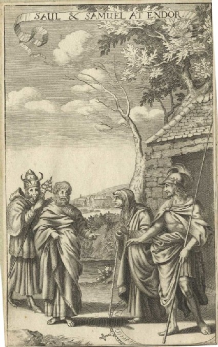 Saul and Samuel at Endor