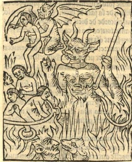 Souls in Hell