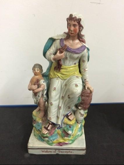 Figure of the Widow of Sarepta
