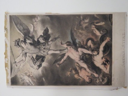 Saint Michael the Archangel and the Fallen Angels