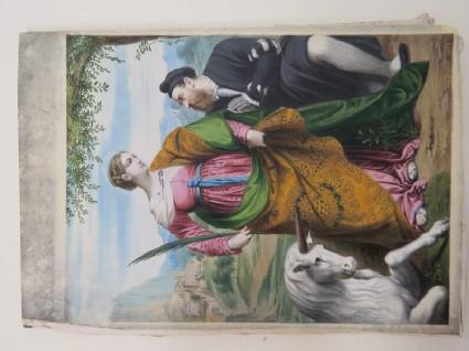 Saint Justine with the Unicorn