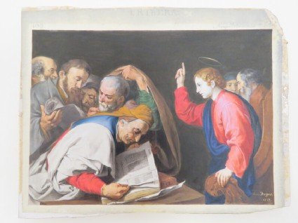 Christ and the Scribes