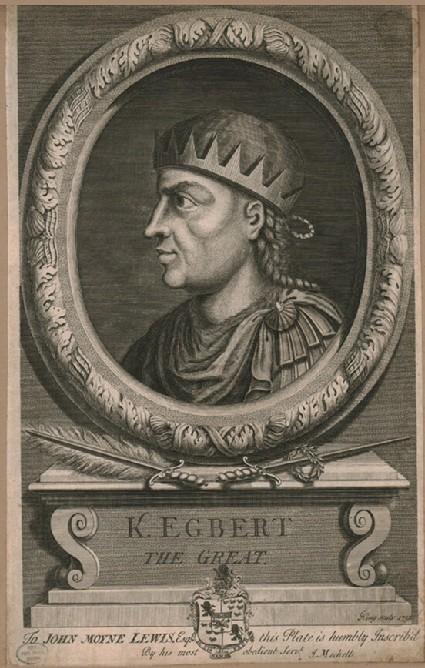 Portrait of Egbert the Great