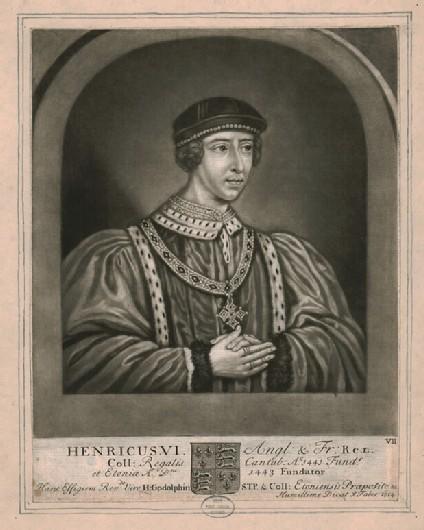 Portrait of Henry VI