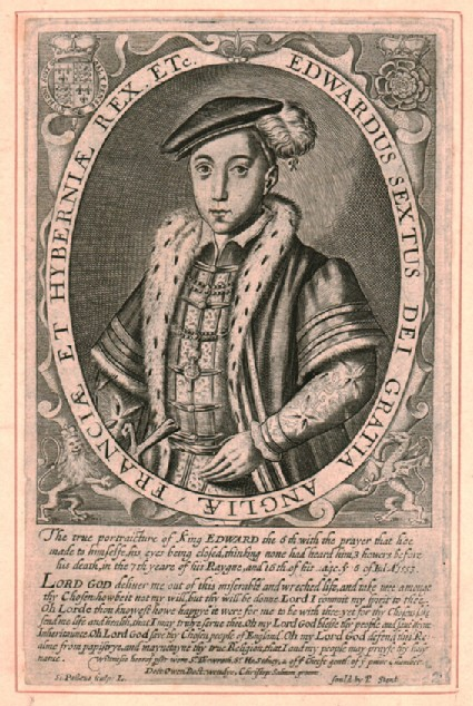 Portrait of Edward VI, King of England