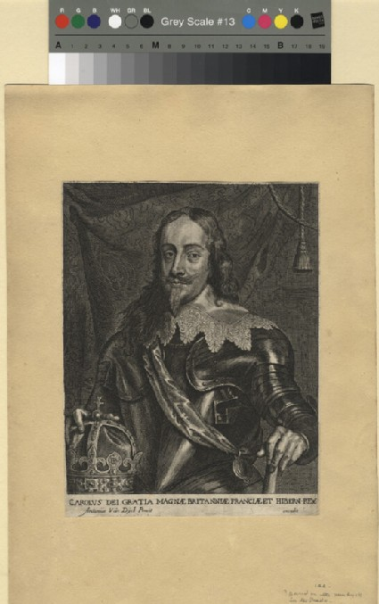 Recto: Charles I