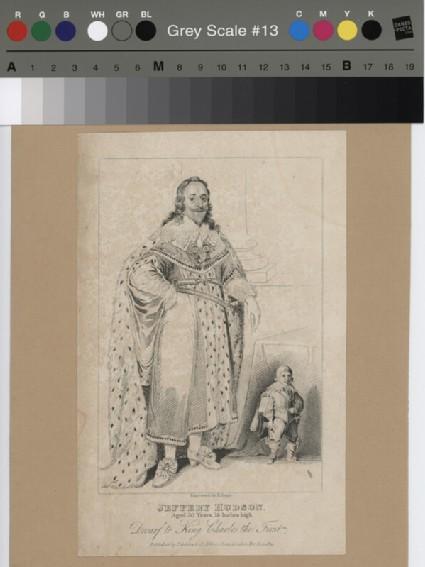 Jeffery Hudson, dwarf to King Charles the First