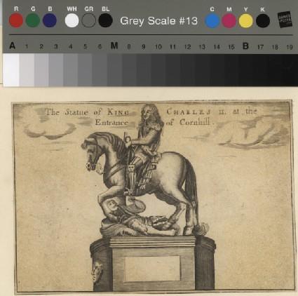 Charles II on horseback