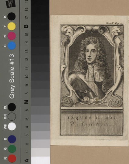 Portrait of James II