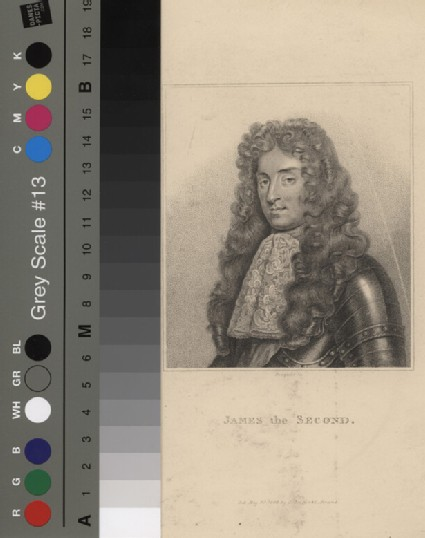 Portrait of James II