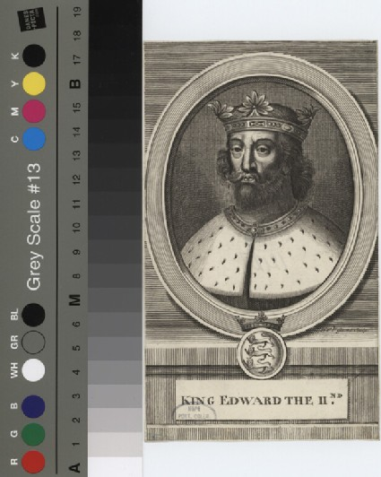 Portrait of Edward II
