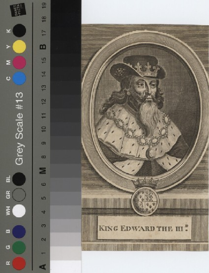 Portrait of Edward III
