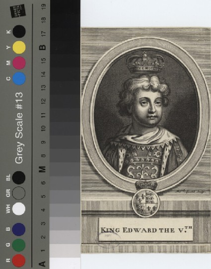 Portrait of Edward V