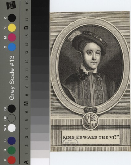 Portrait of Edward VI