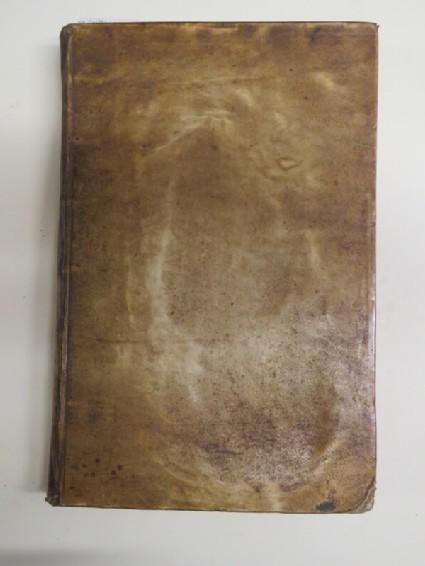 Volume of 92 woodcuts, mounted in album, bound in full vellum