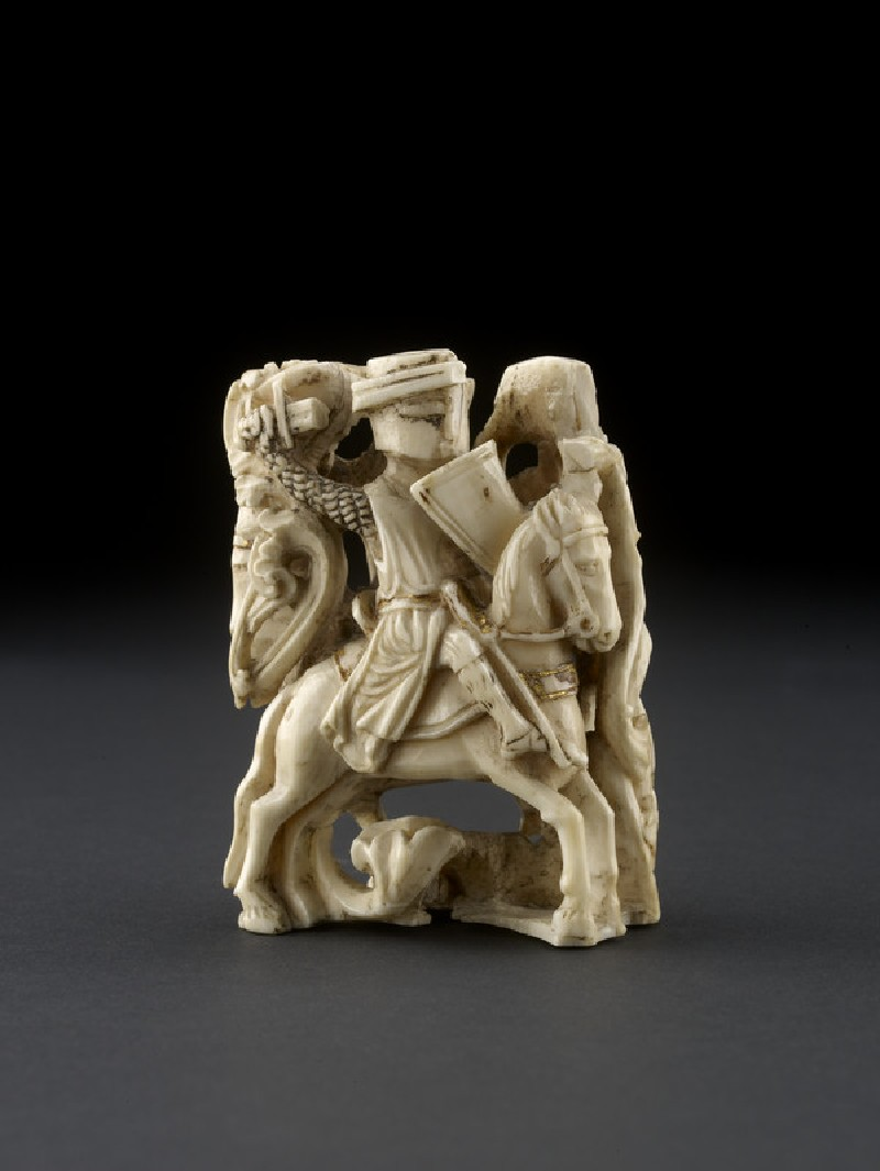 Chess piece in the form of two knights (AN1685.A.587, AN1685 A.587)