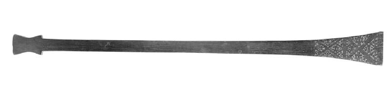 Paddle-shaped club (AN1685 B.130)