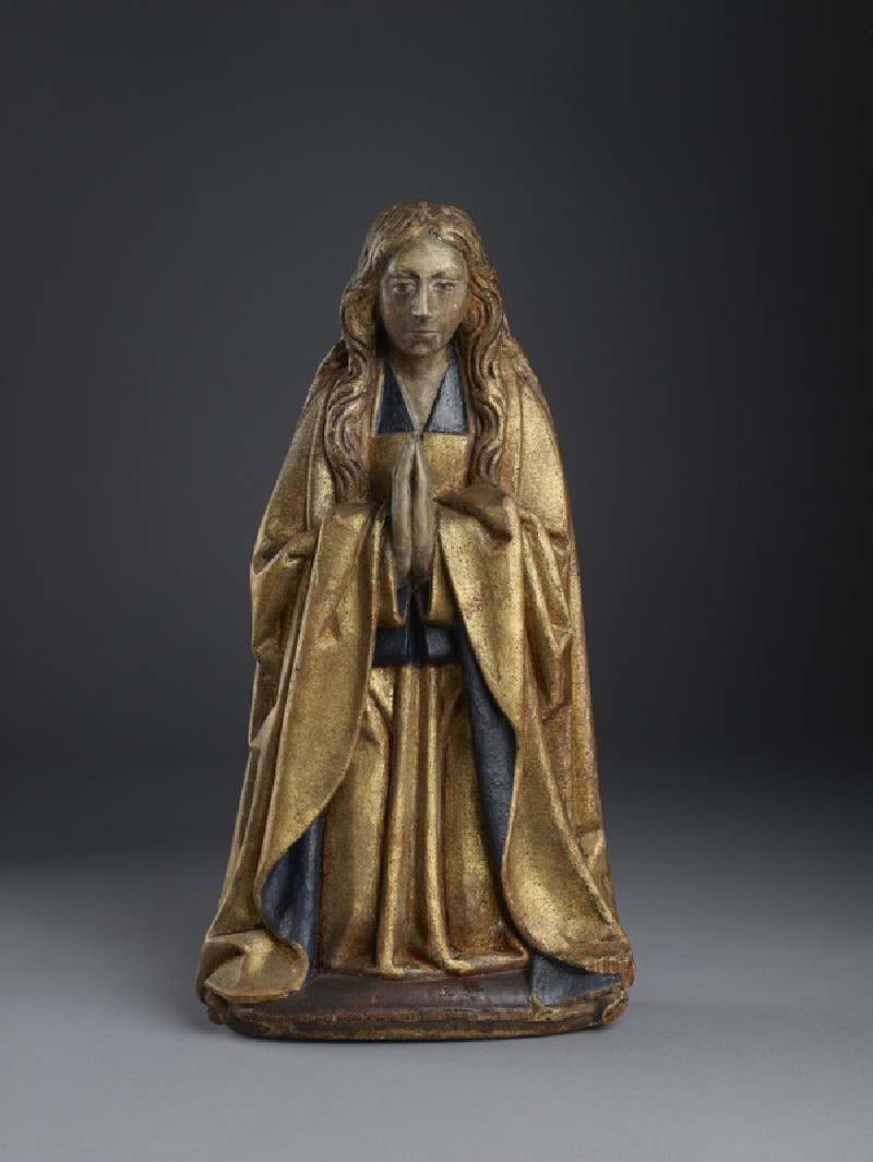 Carved figure representing the Virgin Mary